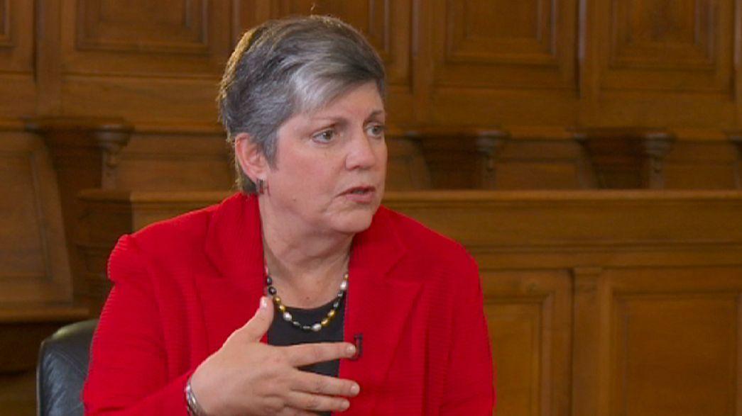 """Jane Napolitano: """"La aviación y el ciber terrorismo son nuestras principales preocupaciones"""""""