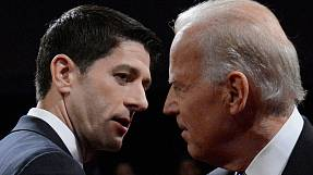 Biden clashes with Ryan over economy, foreign policy