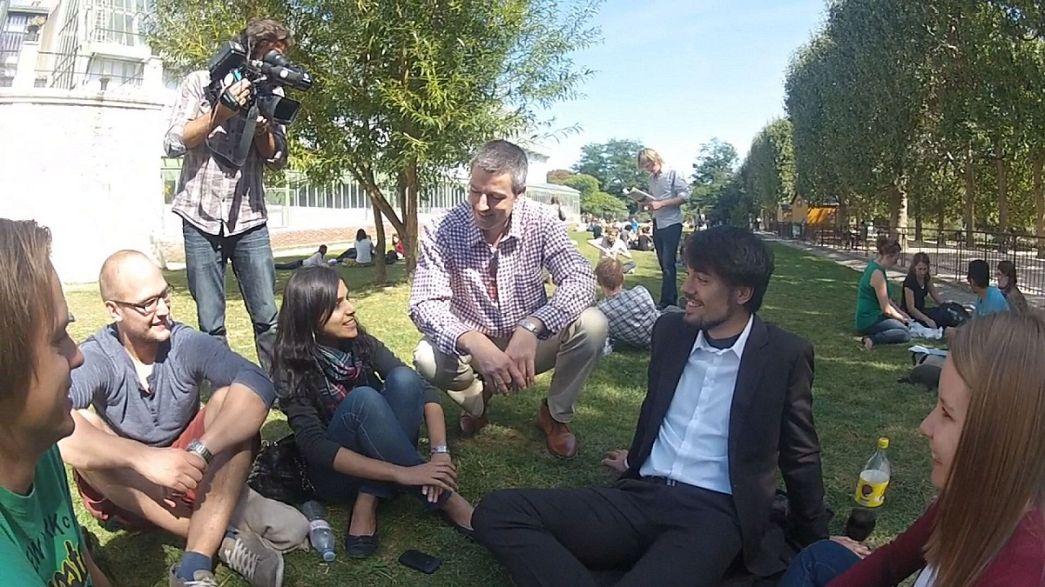 Chatcon gli studenti di Climate-Kic