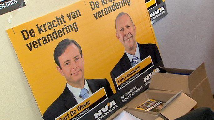 Успех фламандских сепаратистов - пока на местных выборах