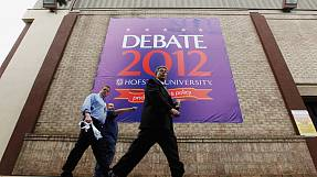Obama and Romney square up for 2nd TV debate