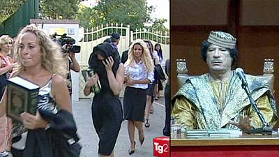 Gheddafi e le sue Amazzoni