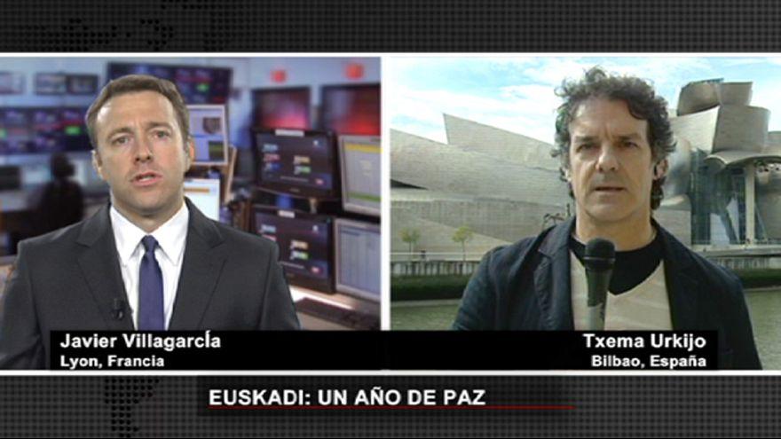 Un año de paz en el País Vasco