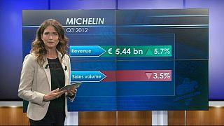 Marchés en baisse, Michelin en hausse
