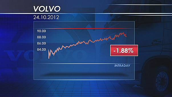 إنتعاش الأسواق الأوروبية يقلص خسائر فولفو
