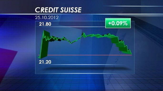 Credit Suisse déçoit mais finit à l'équilibre