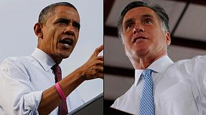 Obama and Romney campaign for that vital undecided vote