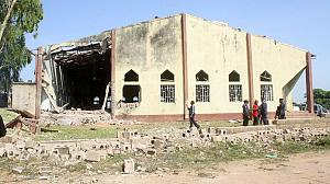Suicide bomber targets church full of worshippers