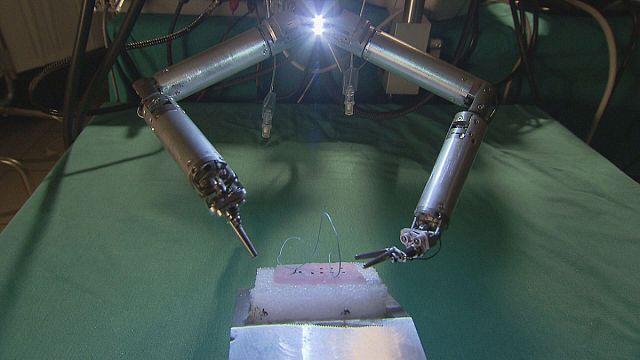 Роботы под кожей пациента