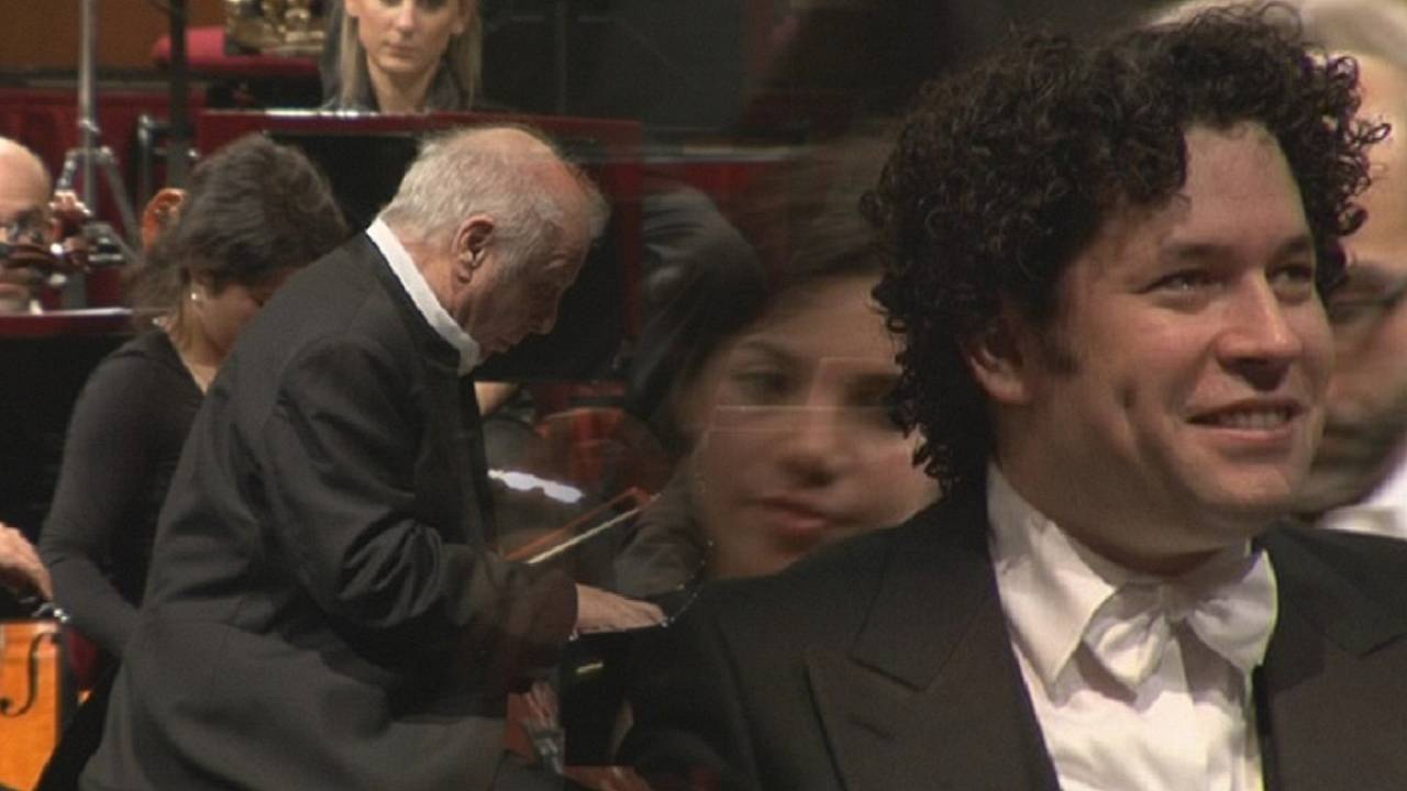 Dudamel y Barenboim, dos maestros sobre el escenario de La Scala
