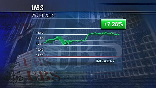 ارزش سهام بانک سوئیسی یو.بی.اس افزایش یافت