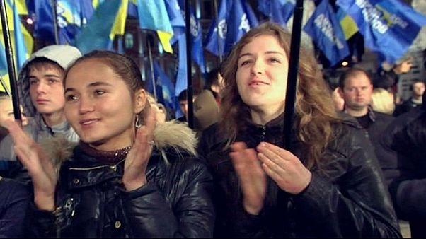Ukraine bleibt ein gespaltenes Land
