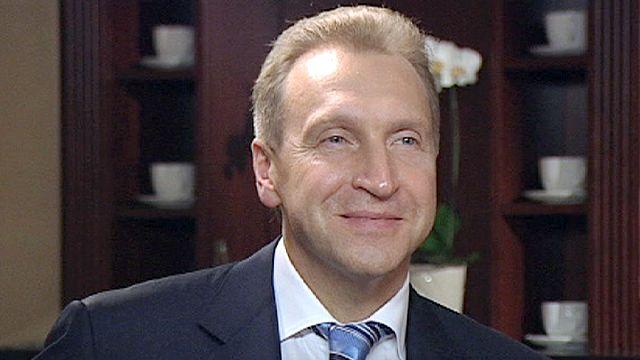 """Igor Shuvalov : """"la Russie est un Etat européen, notre civilisation est européenne"""""""