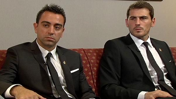 Iker Casillas and Xavi Hernandez, the Princes of Sport