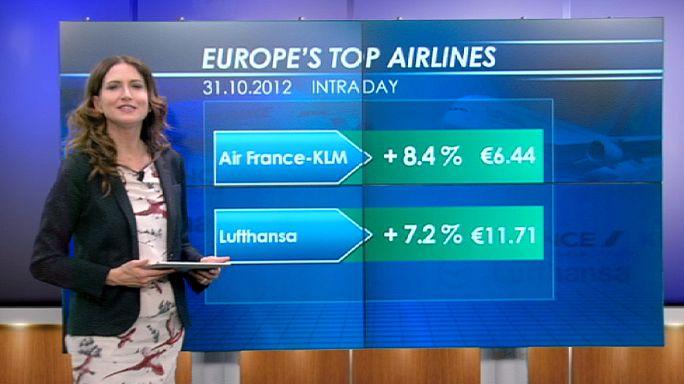 Air France-KLM ve Lufthansa hisseleri kanatlandı