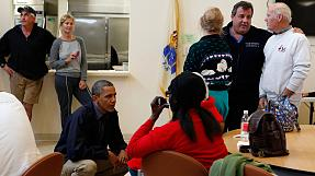 Obama tours Storm Sandy disaster zone