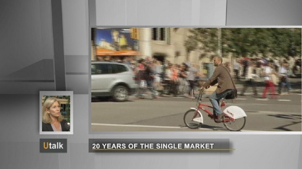 Zwanzig Jahre europäischer Binnenmarkt