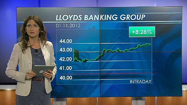 صعود شاخص سهام لویدز، علیرغم زیان در عملکرد سه ماهه