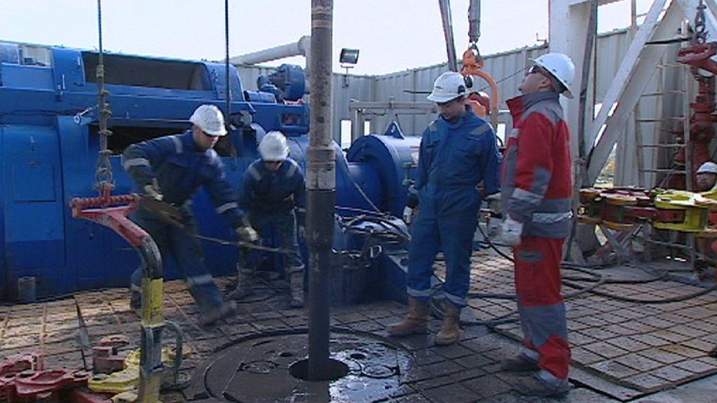 El gas de esquisto fractura Europa