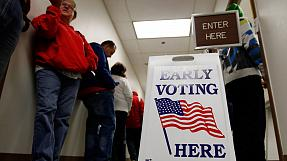Millions of Americans vote early in presidential poll