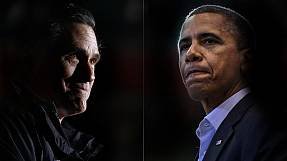 Obama 4 Romney 4… states visited in a day