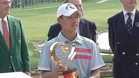 sport: Chinese prodigy to compete in golf Masters