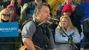 Bruce Springsteen warms up the crowd for Barack Obama – nocomment