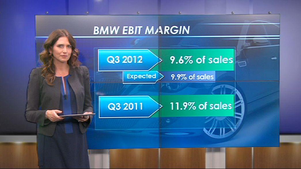 BMW empieza a sentir la crisis