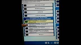 Sporadic voting problems reported