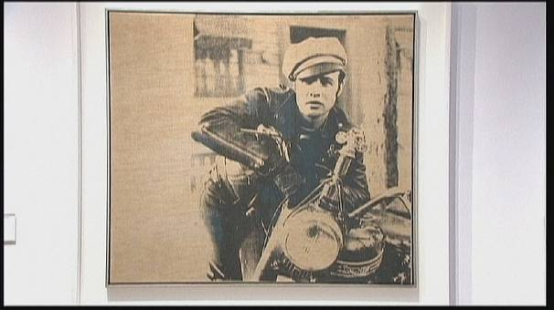 Rare Andy Warhol work goes under the hammer in NYC