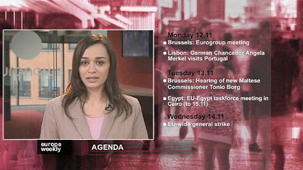 """""""يوروب ويكلي"""" في الاسبوع الاول من شهر تشرين الثاني/نوفمبر 2012"""