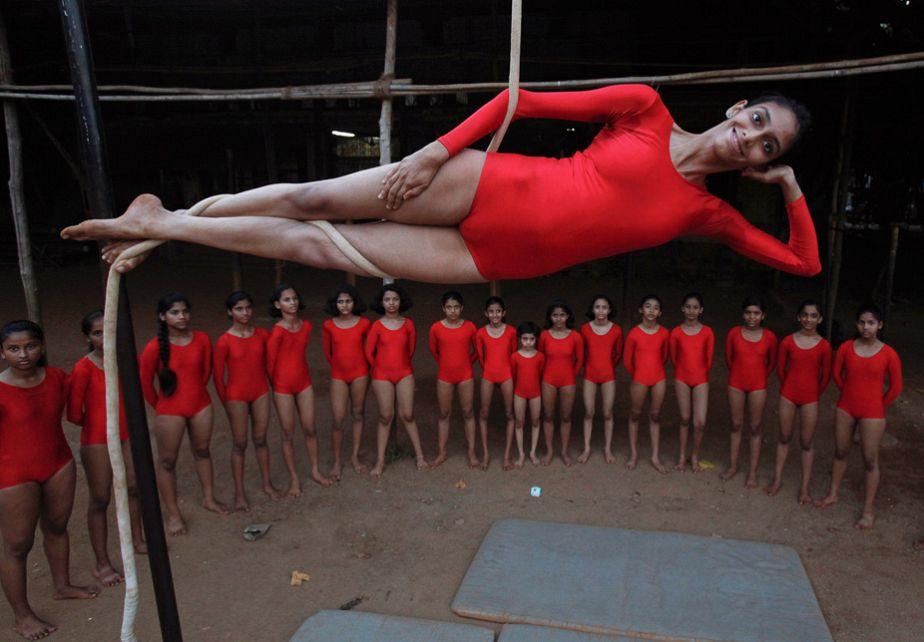 Mallakhamb Practice in Mumbai
