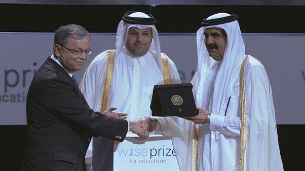 Madhav Chavan, lauréat du Wise Prize for Education