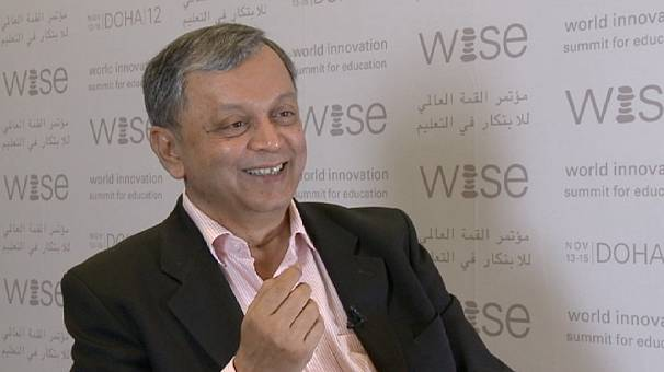 Madhav Chavan wins WISE Prize