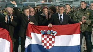 Croatia/Serbia: Gotovina returns home after war crimes acquittal
