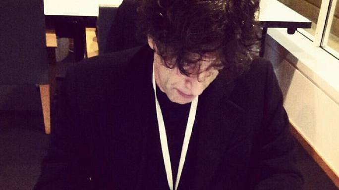 Neil Gaiman's secret: 'You put one word after another until you are done'