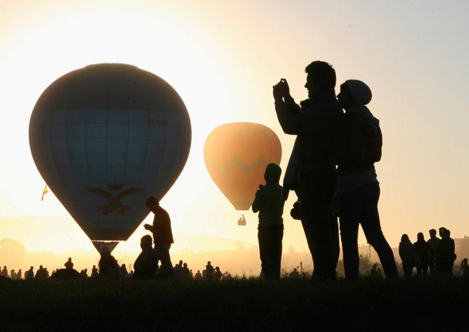 Hot-Air Balloon Festival in Leon