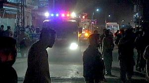 Bomb blasts target Shia community in Pakistan