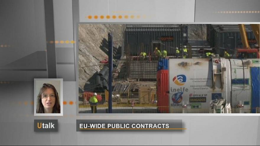 Can companies apply for tenders for works contracts in other counties?