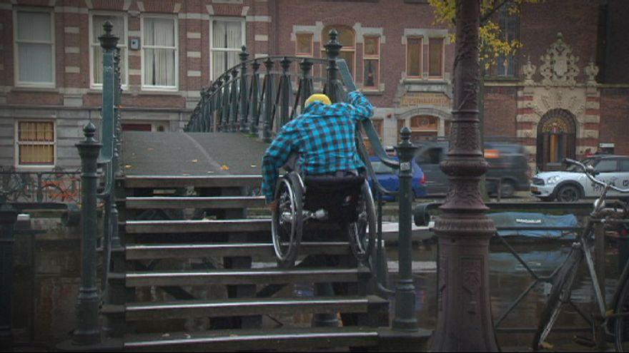 Города ЕС адаптируются к нуждам инвалидов