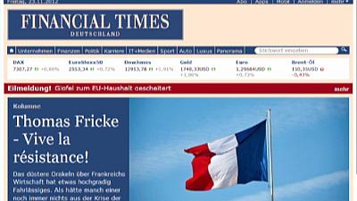 German Financial Times closes after huge losses