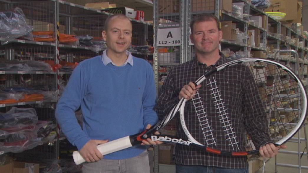 المانيا: الموقع الألكتروني centercourt لتسويق معدات التنس