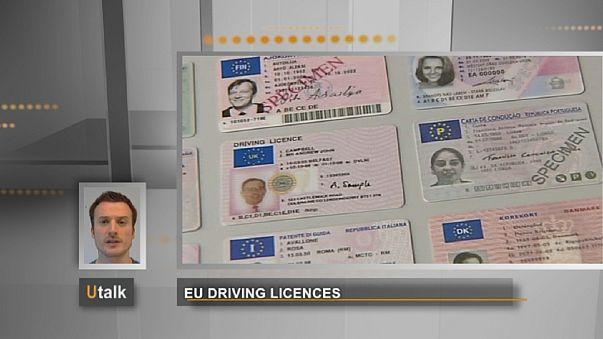 В ЕС введут единый формат водительских прав