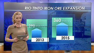 Rio Tinto reduz despesas