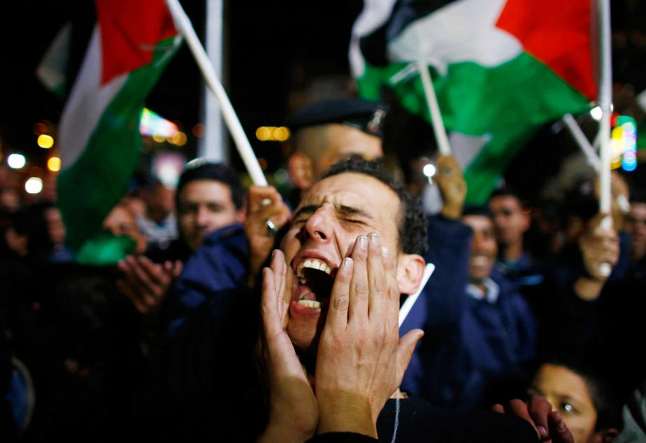 Palestinians celebrate United Nations statehood vote