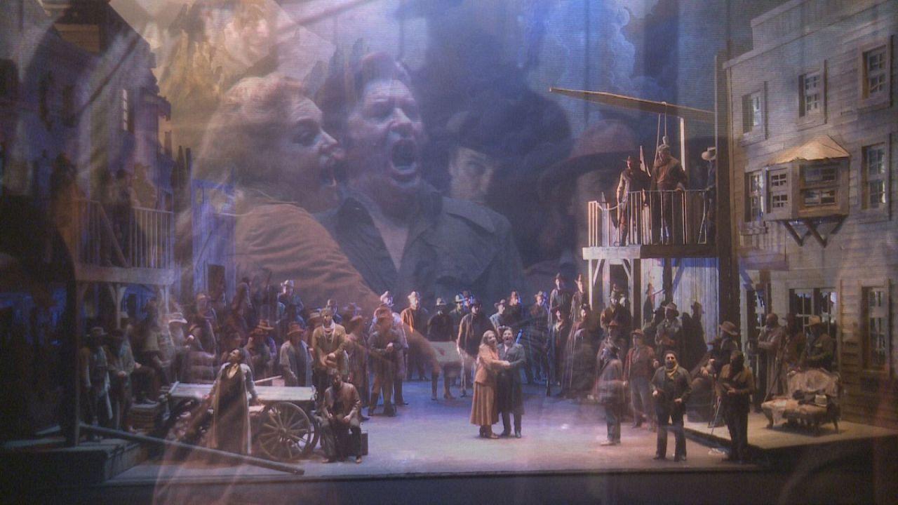 Puccini Far West Opera opens Monte Carlo season