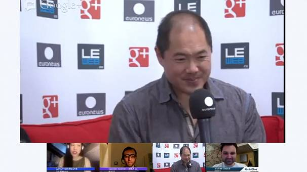 LeWeb2012: hanging out with kiteboarder and tech investor Bill Tai