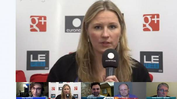 LeWeb2012: hanging out with Indiegogo founder Danae Ringelmann