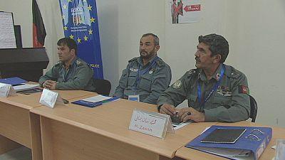 Reforma da polícia afegã com a UE