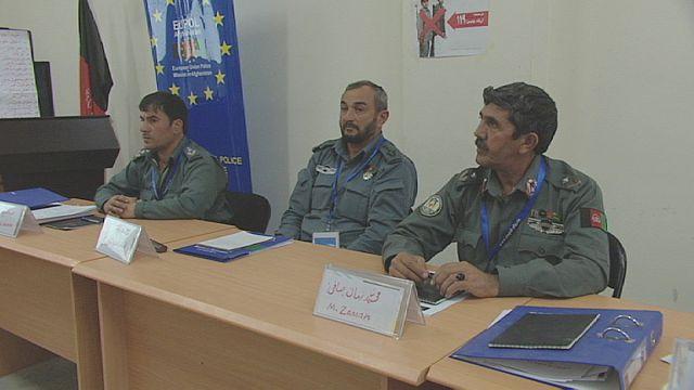المجموعة الاوروربية تدرب الشرطة الافغانية